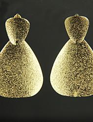 Earring Drop Earrings Jewelry Women Alloy 2pcs Gold / White