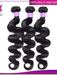 3pcs Brazilian Body Wave Hair Bundles Weaves Peruvian Indian Malaysian Body Wave Hair Wefts Brazilian Body Wave