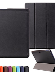 Solid Color High Quality Luxury Leather Flip Full Body Case for Asus TF303 10.1 inch (Assorted Colors)
