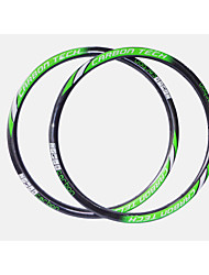 NEASTY Brand  New Process Seamlessly Full Carbon Fiber 26er MTB Bicycle Rim Height=28mm Width=27mm