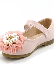 Girls' Shoes Casual Closed Toe Flats Pink/White