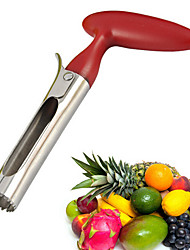 herramienta fácil de manzana liberación de extracción de núcleos cocina corer (color al azar)