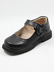 Girls' Shoes Wedding Round Toe   Oxfords Black