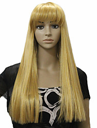 Popular Color Blone Hair Wigs Hair Synthetic Hair Wigs