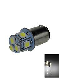 1X White 1157 BAY15D 8 5050 SMD LED Brake Turn Signal Rear Light Bulb Lamp DC 12V E001
