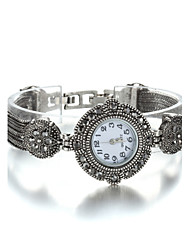 Women's Fashion Jewelry Plating Antique Silver Latest Bracelet Watch Cool Watches Unique Watches