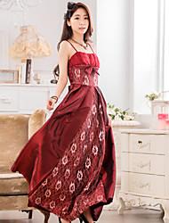 Women's Lace Plus Size Floor-length Bridesmaid Dress/ Wedding Party Dress