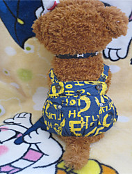 Hunde Hosen Gelb Sommer Jeans