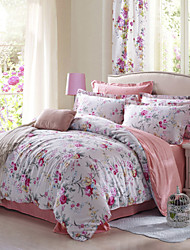 AIWODE® 100% Cotton Queen Duvet Cover Sets Comfortble