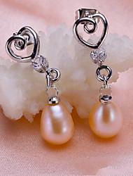 z & x® correspondant de perles fraîcheur de l'eau / boucles d'oreilles en strass mariage / fête / jour
