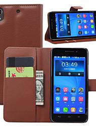 lichia impasse em torno aberto telefone coldre adequado para g620s Huawei Ascend (cores sortidas)