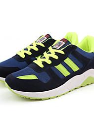 Для мужчин Удобная обувь Синтетика Весна Лето Осень Зима Атлетический Повседневные Для прогулок Удобная обувь ШнуровкаЧерный Темно-синий