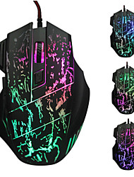 5500 DPI 7 Button LED Optical USB Wired Mouse Gamer Mice computer mouse Gaming Mouse For Pro Gamer