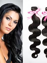 """emeda aliexpress3pcs pelo / lot venta caliente brasileñas 8 """"-30"""" onda del cuerpo brasileños paquetes armadura del pelo en stock"""