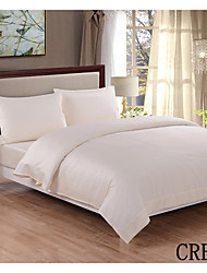 "Heniemo Sheet Set, 4-Piece 100% Cotton 400 Thread Count,Solid with 16""-20"" Pocket Depth"