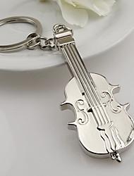Zinc Alloy Creative Fashion Violin Key Chain Ring Keyring