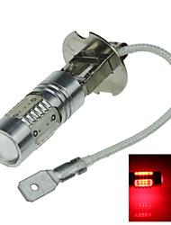 1X 5 COB SMD LED H3 Bulb Red Fog Light Parking Low High Beam Lamp 7.5W AC/DC 12-24V H062