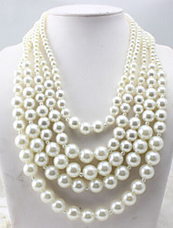 New Arrival Fashional Fresh Multilayer Pearl Necklace