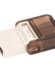 Kingston Digital 16GB DataTraveler MicroDuo USB 2.0 Drive DTDUO/16GB
