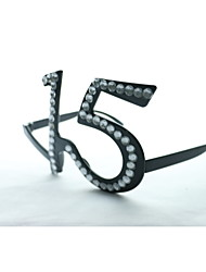 cristal pc no.15 divertido del friki&vidrios del partido elegantes
