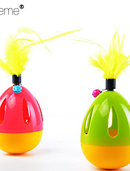 Lureme®Lovely  Candy Color Pet Toy Tumbler Mouse To Make The Cat Toy
