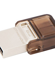 Kingston Digital 8GB DataTraveler MicroDuo USB 2.0 Drive DTDUO/8GB