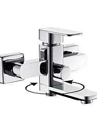 Grifo de bañera - Contemporáneo Latón (Cromo)