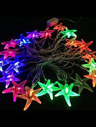 2w 4 metro luci lampadina diametro esterno 20pcs modellazione illuminazione principale stringa stelle marine, colore rgb