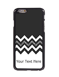 Personalized Gift The Black and White Design Aluminum Hard Case for iPhone 6