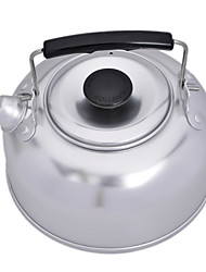 Cleanmate    LY20150612026   Outdoor Camping Stainless Steel Coffe Tea Pot Kettle - Silver