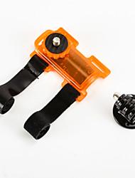 clip voiture avec adaptateur trépied pour GoPro Hero 4/3 + / 3/2/1 / sj4000 / sj5000 / sj6000 (couleurs assorties)