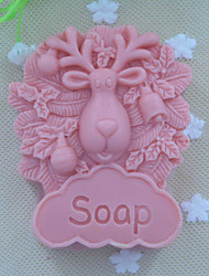 Sheep animal Soap Mold  Fondant Cake Chocolate Silicone Mold, Decoration Tools Bakeware