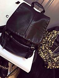 handcee® mejor mujer vendedor pu moda mochila bolsa estilo sencillo