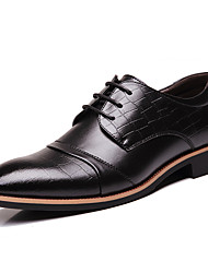 Men's Fashion Casual Pointed Toe Faux/PU Leather Shoes/Oxfords