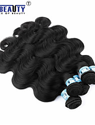 "4Pcs/Lot 8""-30""Peruvian Virgin Hair Body Wave Human Hair Extensions 100% Unprocessed Peruvian Remy Hair Weaves"