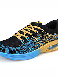 Men's Running Shoes Tulle / Fabric Blue / Orange