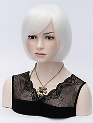 Grey Popular Short Hair Wigs Bob Hair Wave Synthetic Hair Wigs