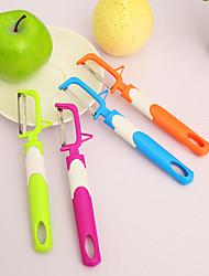 5pcs gadgets de cuisine fruits&éplucheur de couleur aléatoire