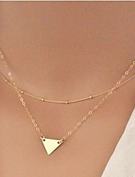 New Arrival Fashional Hot Selling Popular Chain Triangle Necklace