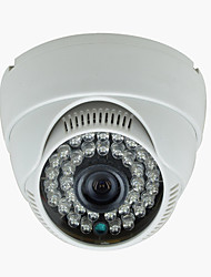 "dome bewakingscamera indoor 1/3 ""CMOS 1000tvl nachtzicht 36LED infrarood video CCTV-camera"
