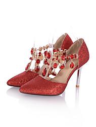 Zapatos de mujer - Tacón Stiletto - Puntiagudos / Punta Cerrada - Sandalias - Oficina y Trabajo / Vestido / Casual / Fiesta y Noche -