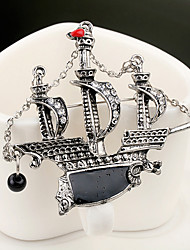 Sailboat Brooch (1Pc)