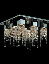 Chandeliers/Track Lights Crystal Modern/Contemporary Living Room/Bedroom/Dining Room/Bathroom/Kids Room Metal