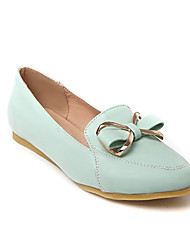 Girls' Shoes Casual Round Toe  Flats Black/Blue/Pink/White