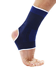 Ollas Unisex Outdoor Fitness A Pair Blue Fine Cotton High-elastic Circular Knitting Breathable Ankle Protector S9608