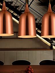Chandelier , 1 Light , Retro Elegant Artistic Stainless Steel Plating