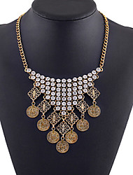 Jia qi Women's Fashion Flower Pattern Necklace