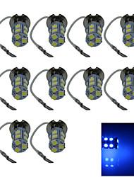 10X 13 5050 SMD LED H3 Bulb Blue Fog Light Parking Low High Beam Lamp DC 12V H053