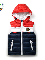 Boy's Winter/Fall Inelastic Medium Sleeveless Down & Cotton Padded/Vest (Cotton Blends)