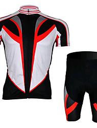 Black Short Sleeved Jersey Suit, Moisture Cycling Wear, Motor Function Material
